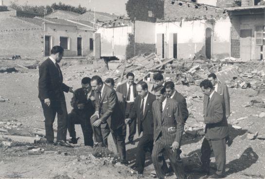 Joaquín Soler Serrano visita la zona afectada per les inundacions
