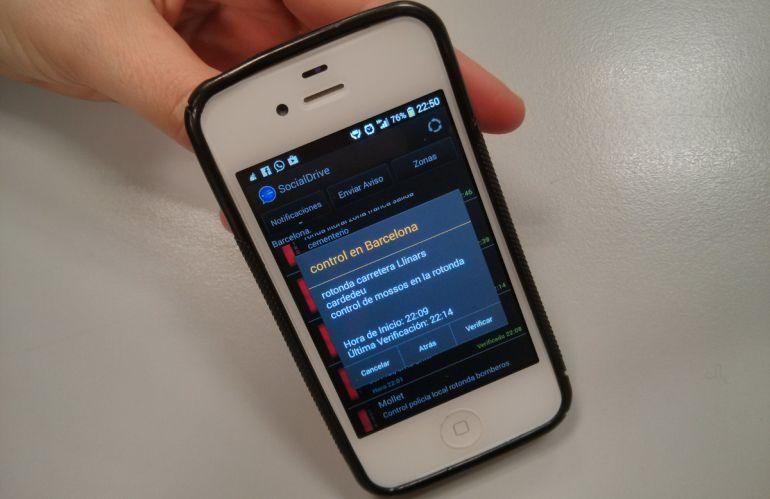 Apps que indican dónde están los controles policiales