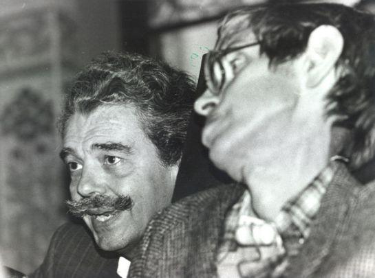 Lluís Permanyer amb Stephen Hawking