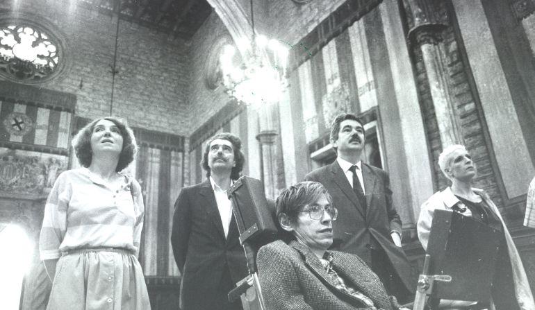 De quan Stephen Hawking va visitar Barcelona