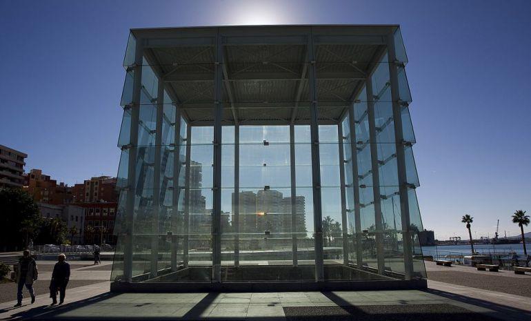 Edificio del Cubo del Puerto, en el puerto de Málaga