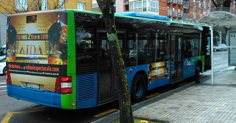 Autobús ópera Aida