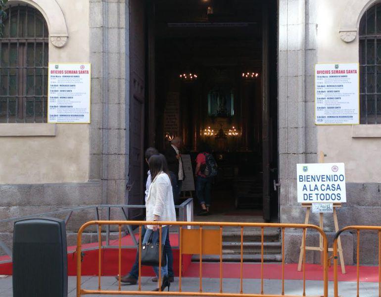 Iglesia de San Antón abierta ya las 24 horas