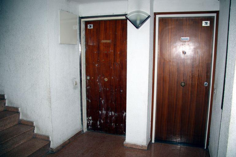 Interior d'un bloc de pisos a Salt