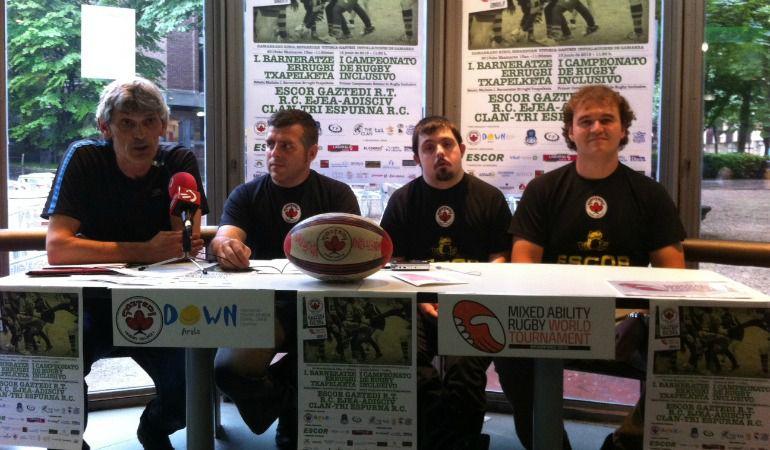 Presentación del Torneo de Rugby inclusivo.