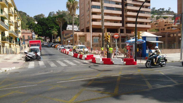 Comienzan los desv os de tr fico por las obras del metro - Telefono de trafico en malaga ...
