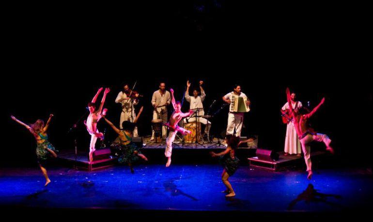 Grupo de Danza de Urugüay que actúa en esta edición.