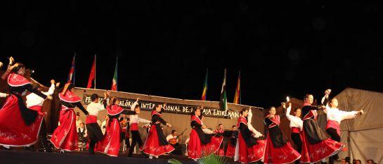 Una actuación de Valdemedel en el Festival.
