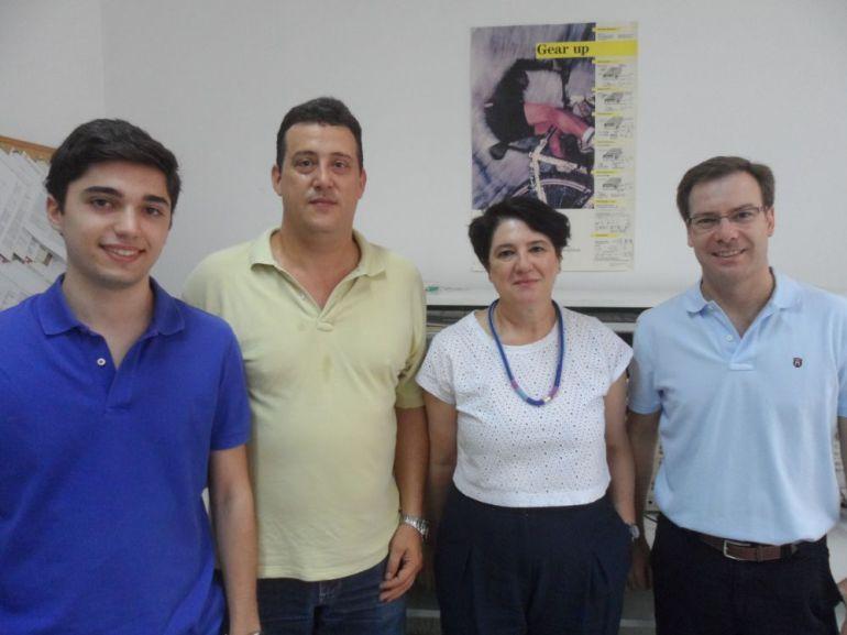 David Palomeque Mangut; Gregorio Gómez Mata; Raquel Pérez-Aloe Valverde y Miguel Ángel Domínguez Puertas