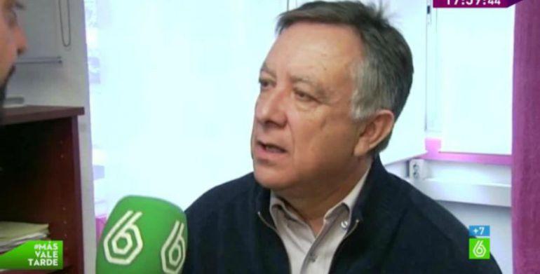 El prestamista Antonio Arroyo en una entrevista con La Sexta