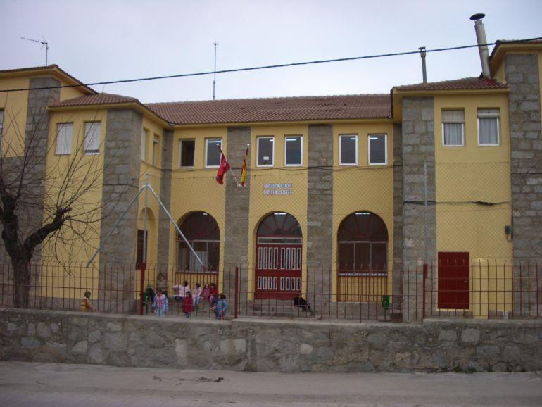 Un colegio en ruinas