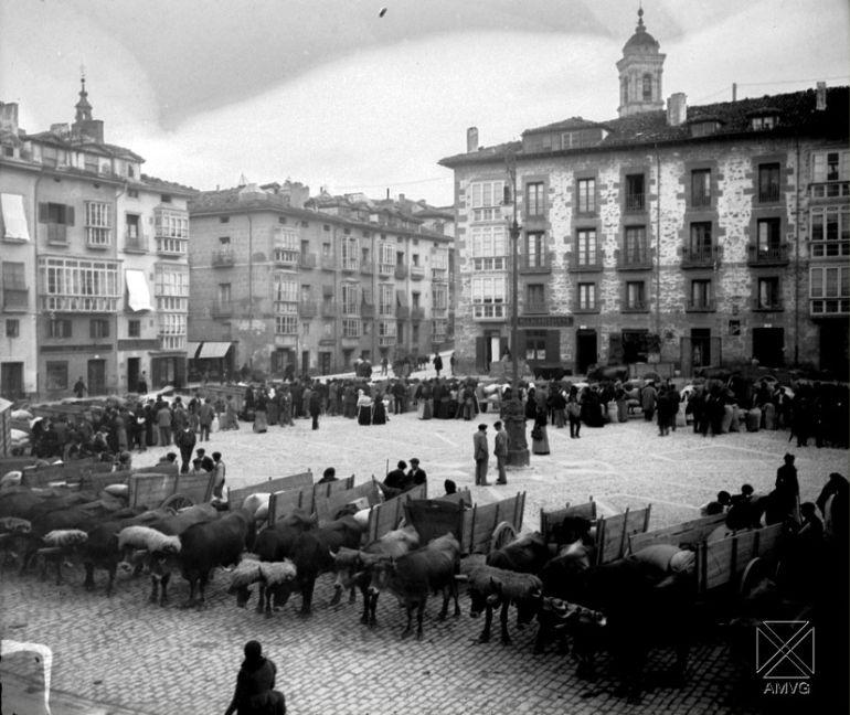 Cuando la plaza de bilbao no estaba donde ahora est la - Bilbao fotos antiguas ...