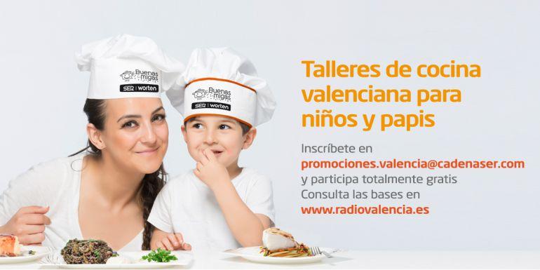 Radio valencia cadena ser presenta buenas migas - Talleres de cocina en valencia ...