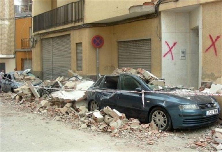 Efectos del terremoto de Lorca 2011