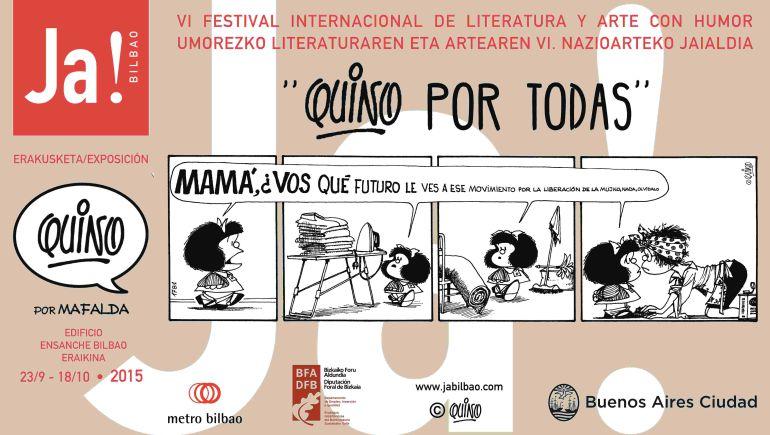 Metro Bilbao con Mafalda