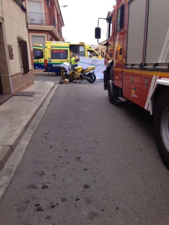 Los servicios de emergencia en el lugar del accidente