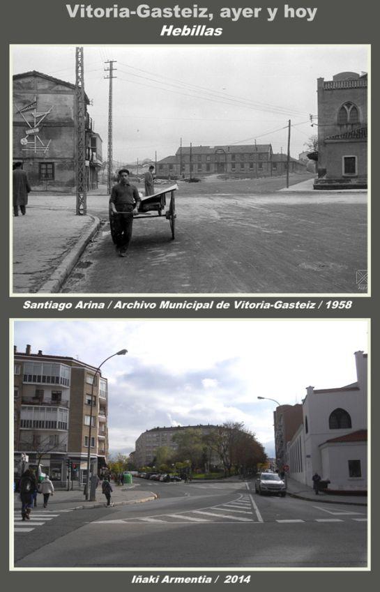 FOTOS: Así era el puente de San Cristóbal en 1958 (y unos mapas antiguos del barrio)