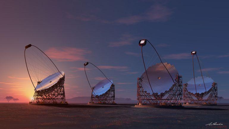 Resultado de imagen de Inauguración del telescopio LST en Roque los los muchachos, Canarias