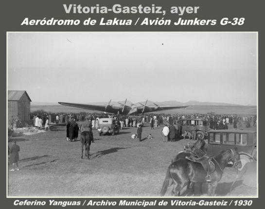 FOTOS: El día que aterrizó en Lakua el avión más grande del mundo