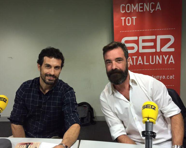 Jordi Sánchez d'OBK i Isaac Pachón a Espècies Protegides