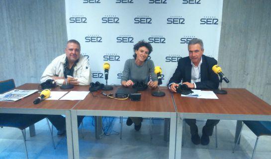 La concejala delegada de Acción Cultural del Ayto. de Valencia acude en directo al programa 'Hoy por Hoy Locos por Valencia'