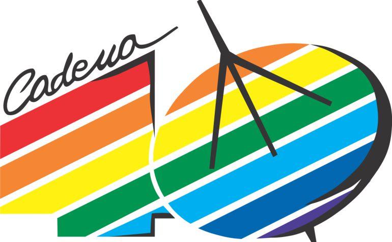Logo de los 40 Principales en los años 80