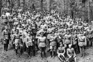 Reunión en Las Raíces, el 17 de junio de 1936