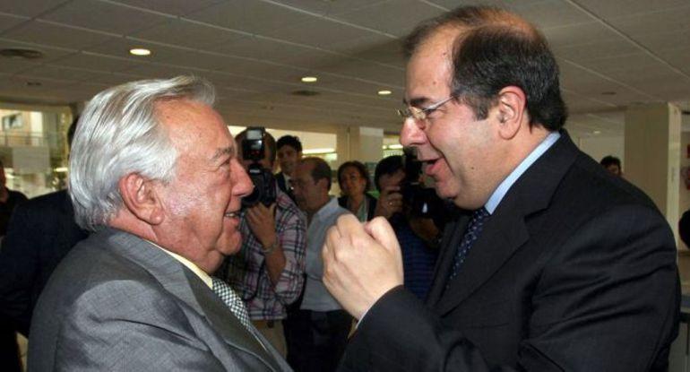David Álvarez con el presidente Herrera