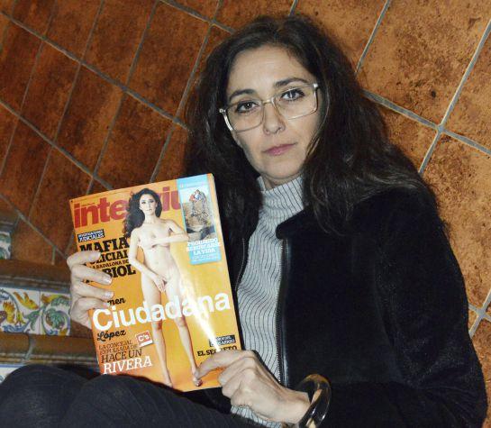 Carmen López, la concejala de Ciudadanos en Castilleja de la Cuesta (Sevilla).