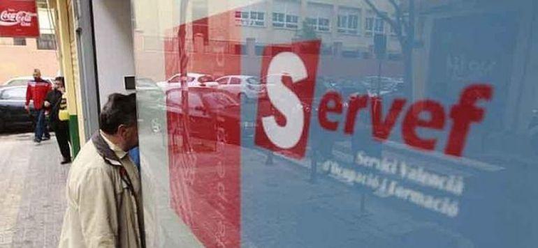 El desempleo baja en octubre en la comunitat valenciana for Oficinas servef valencia