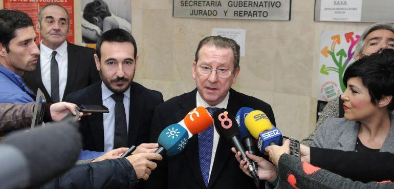 El consejero de Justicia, Emilio Llera