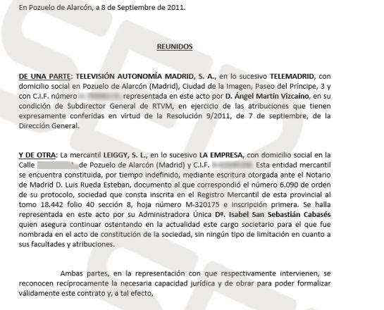 Isabel San Sebastián facturó 10.000 € al mes por un programa de 45 minutos