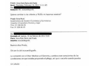 El portavoz de Sanidad de Ciudadanos trató de favorecer a una farmacéutica