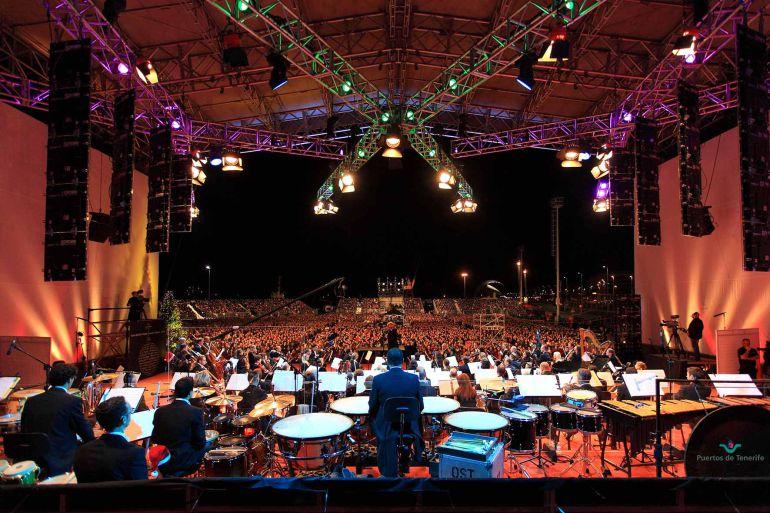 Resultado de imagen de concierto de navidad puertos de tenerife 2017
