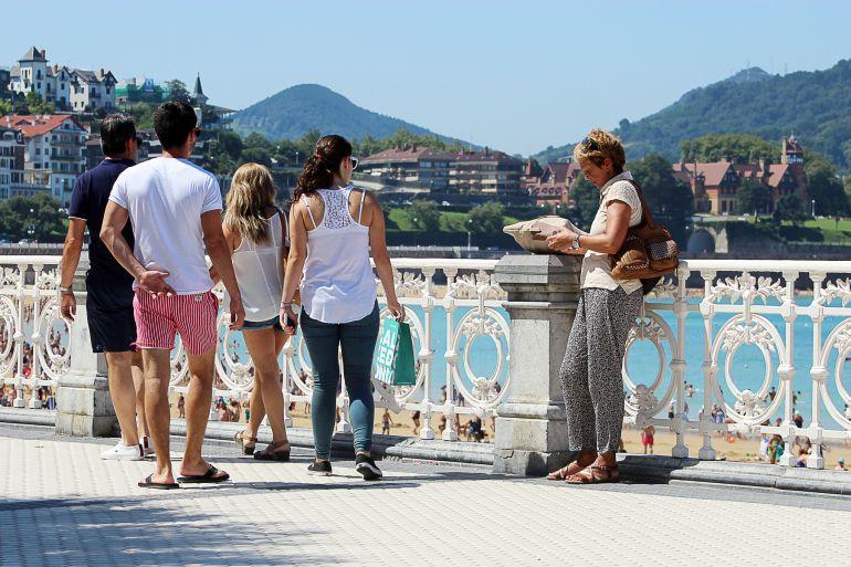 Turismo de récord en Euskadi