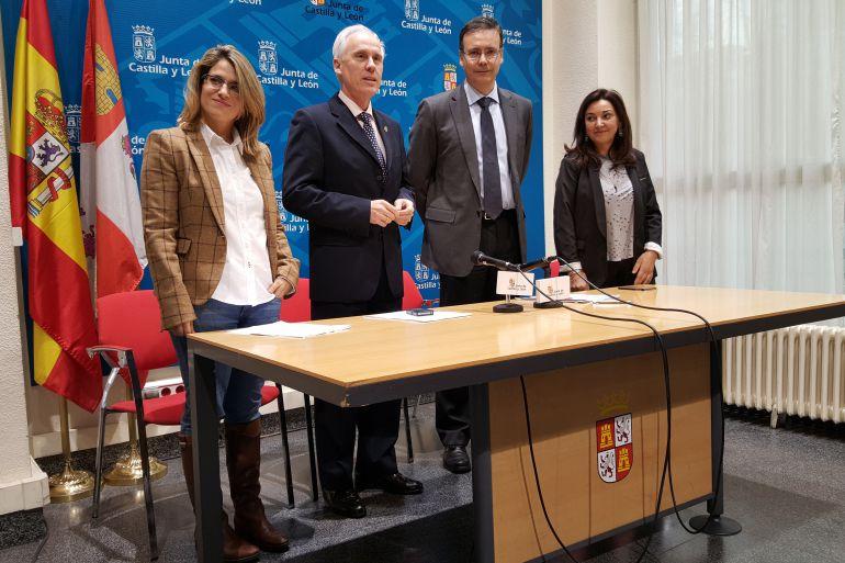 Presentación de los nuevos gestores de los servicios de estancias diurnas de Carrión y Aguilar.
