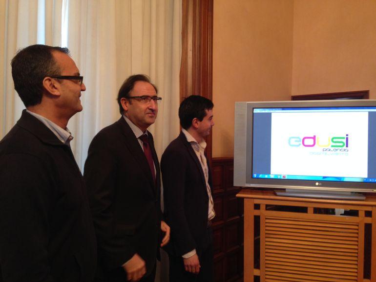 Luis Ángel Pérez, Alfonso Polanco y David Vázquez