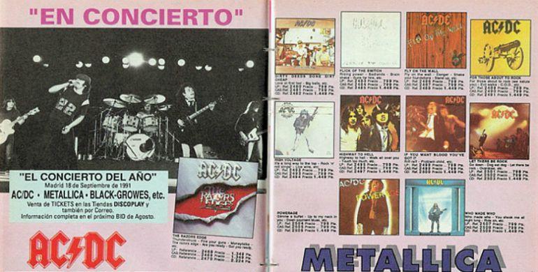 Páginas del Boletín Informativo Discoplay