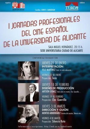 Jornadas Profesionales de Cine Español de la Universidad de Alicante