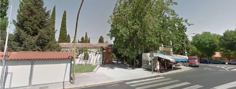 Entrada del cementerio de Guadalajara