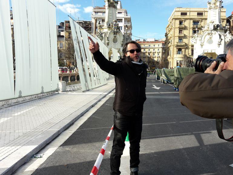 Hansel Cereza, director artístico del espectáculo inaugural