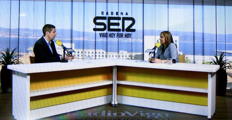 La presidenta de la Diputación se pasó por Vigo Hoy por Hoy
