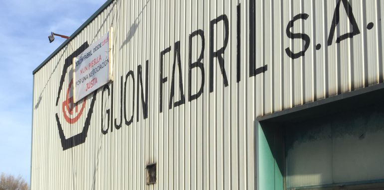 Vista de las instalaciones de Gijón Fabril