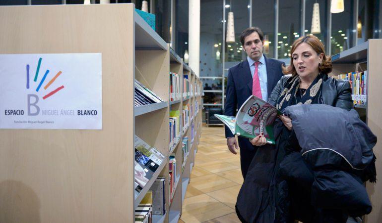 El Espacio Miguel Ángel Blanco cuenta con libros sobre la lucha contra el terrorismo