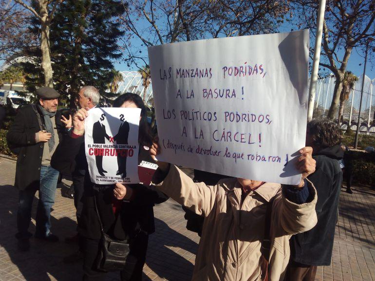 """Colectivos sociales valencianos contra la corrupción: Contra la corrupción: """"Impunitat zero"""""""