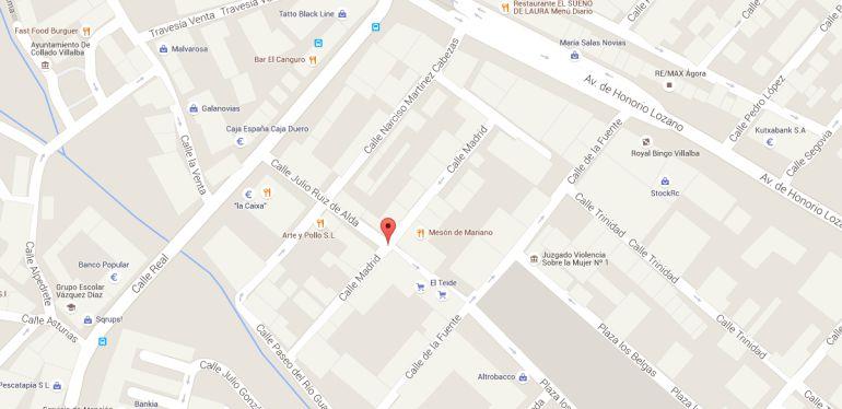 Villalba sigue teniendo una calle dedicada a un cofundador for Calle prado manzano collado villalba