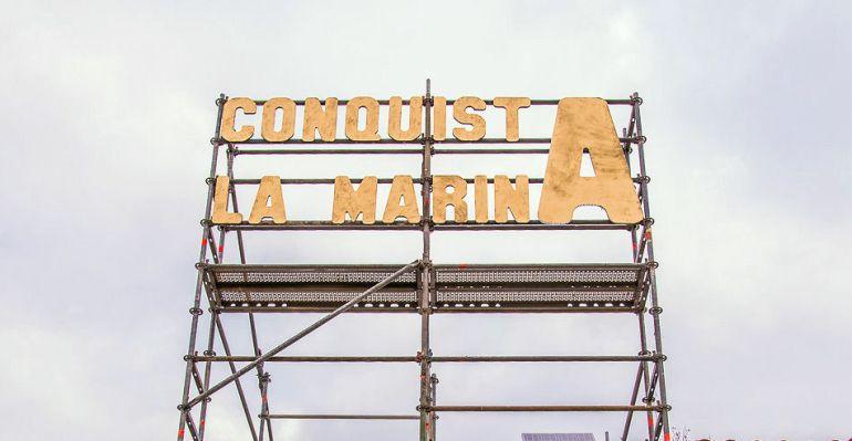 """""""Conquista La Marina"""" es el lema que reúne todas las acciones promovidas por el ayuntamiento de Sanse para recuperar este espacio verde"""