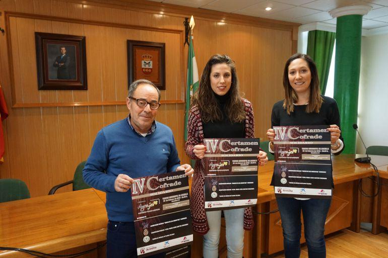 Presentación del concierto solidario a favor de AGRAJER en Armilla(Granada)