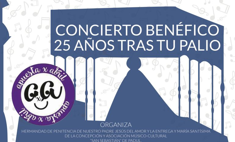 """Detalle del concierto """"25 tras tu palio"""", que tendrá lugar el próximo 12 de marzo"""