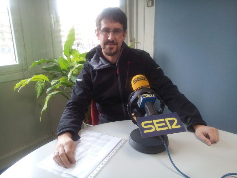 Xabier Beraiz, de la Asociación Retinosis Gipuzkoa Begisare